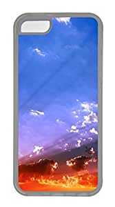 iPhone 5C Cases & Covers - Sky View Sunset Custom TPU Soft Case Cover Protector for iPhone 5C - Transparent