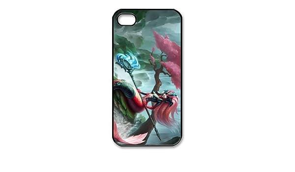 iphone4 4s phone case Black nami league of legends ...
