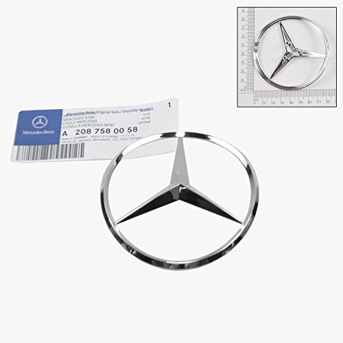 Mercedes Badge - Mercedes-Benz Trunk Lid Star Emblem Badge Genuine OE 2080058/2100058