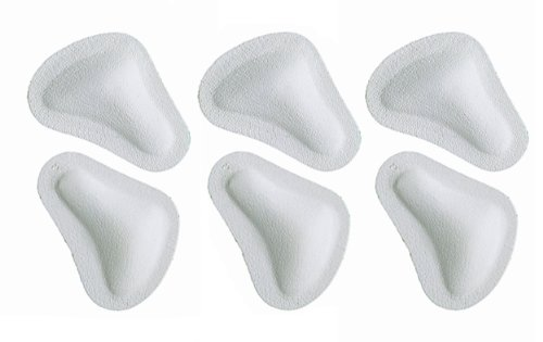 Pedag T-form Anatomically Correct Metatarsal Arch Pads to Lift and Shape, Leather,  Small (EU 35-37/ US W5-W7), 3 Count