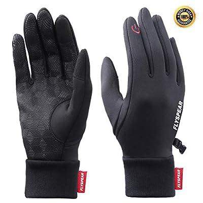 Winter Gloves Touch Screen Waterproof Windproof Outdoor Running Cycling Gloves for Men & Women