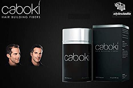 Stylestudio Caboki Hair Building Fiber (Black, 25 gm) Hair Creams, Gels & Lotions at amazon