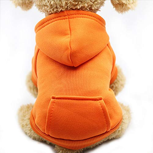 Fanatical-Night Dog Hoodies Pet Clothes for Dogs Coat Jackets Cotton Dog Clothes Puppy Pet Overalls for Dogs,5,XL