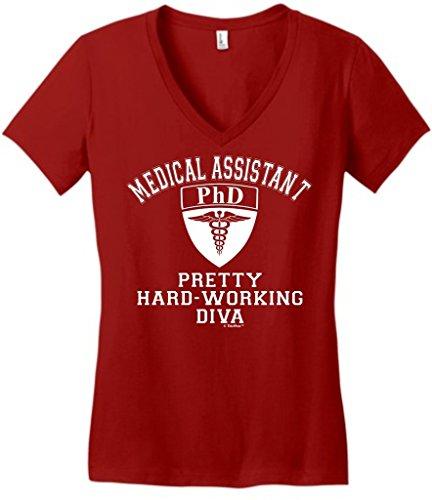 Medical Assistant Shield Pretty Juniors