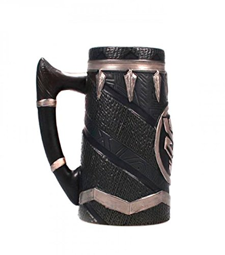 Marvel Comics Stein Black Panther Half Moon Calici Tazze