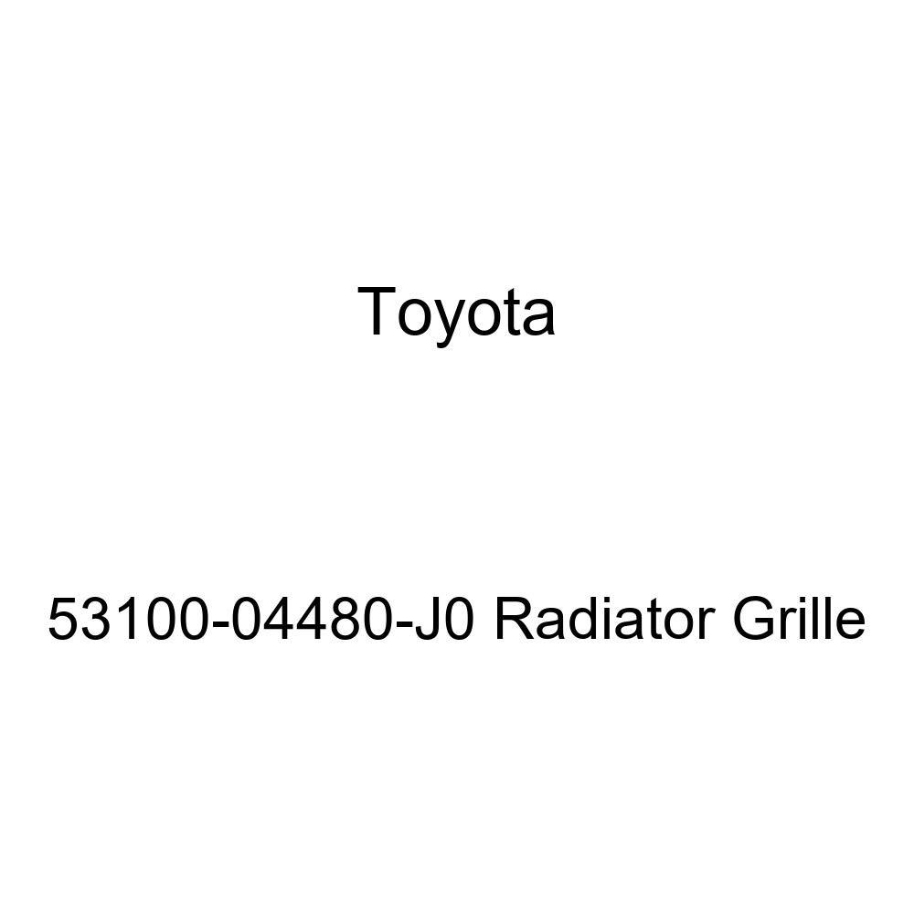 Genuine Toyota 53100-04480-J0 Radiator Grille