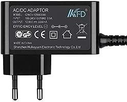 KFD Adaptador de Corriente Cargador Universal CC 12V 3A CA 100-240V Transformador para CHUWI Lapbook Air 14.1 Lapbook Plus, alimentación de Tiras LED ...