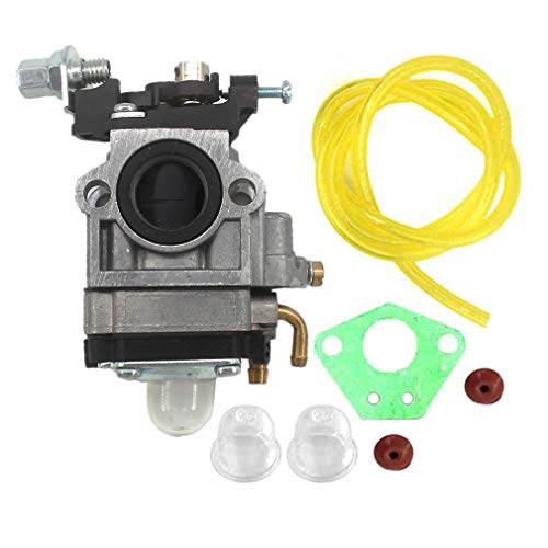 (AISEN Carburetor for X-TREME XG-550 XG-505 XG-499 XG-470 43cc 49cc 2 Stroke Gas Scooter Mini-Chopper Pocket Rocket Fuel Line Primer Bulb Carb)