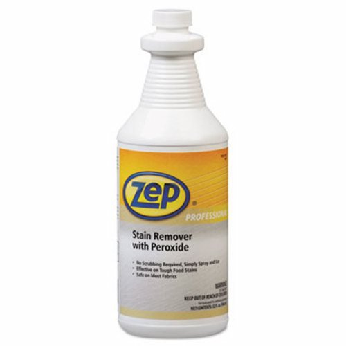 Zep Professional Stain Remover with Peroxide, 32oz, 6 Bottles (ZPP R00701)