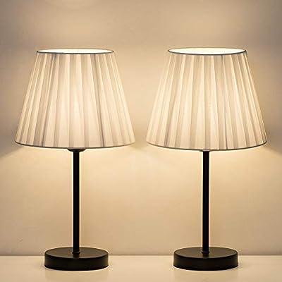 lámpara de mesa dormitorio lámparas de mesita de noche pequeñas ...