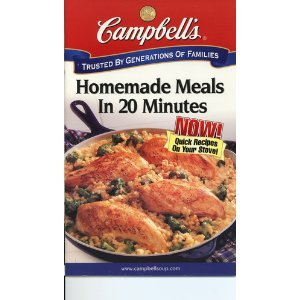 Campbell's Homemade Meals in 20 Minutes pdf