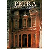 Front cover for the book Petra: Jordan's extrordinary ancient city by Fabio Bourbon