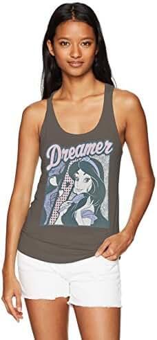 Disney Women's Aladdin Dream Jasmine Ideal Racerback Graphic Tank Top