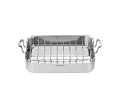 Cuisinart Multiclad Pro Triple Ply Stainless Roasting Pan With Rack