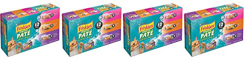 Purina Friskies Classic BjuVb Pate Variety Pack Cat Food, 24 Count (2 Pack) by Purina Friskies