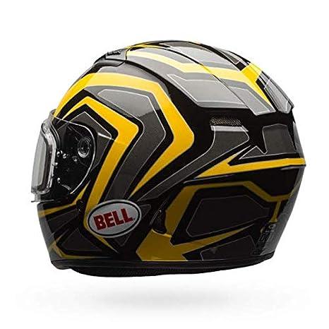 Blaze Gloss Titanium//Orange, X-Large Bell Qualifier Electric Shield Snow Helmet