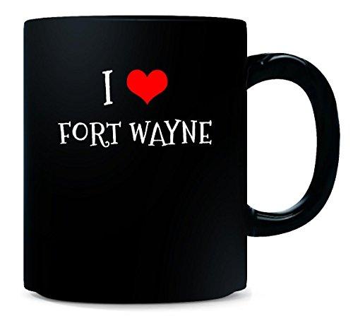 I Love Fort Wayne City. Cool Gift - Mug (Halloween City Fort Wayne)