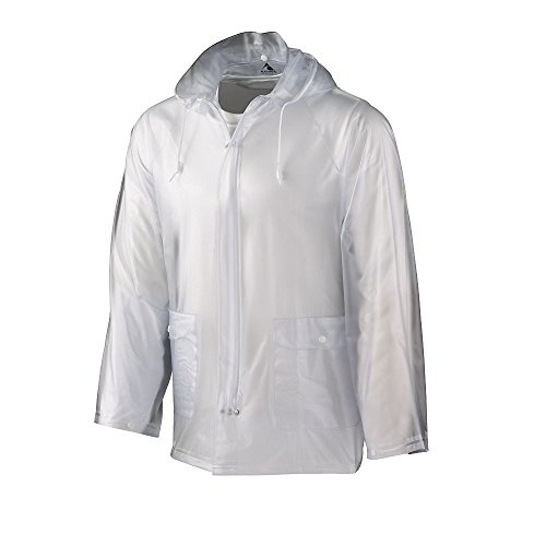 Augusta Sportswear Clear Rain Jacket XL Clear ()