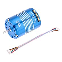 MonkeyJack 540 13.5T Waterproof Sensored Brushless Motor for 1/10 RC Car Auto Truck High quality