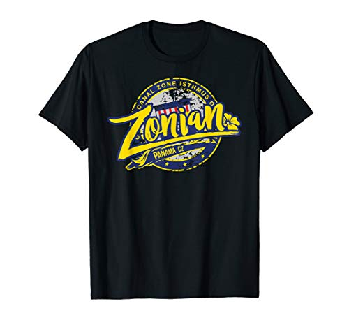 Zonian Panama CZ T-Shirt - Panama Canal Zone (Seal Of The Canal Zone Isthmus Of Panama)