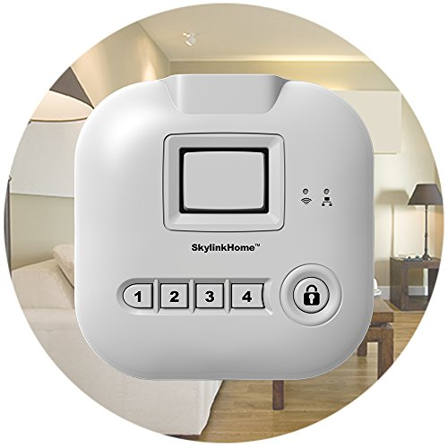 skylinknet connected home alarm system starter kit wyzed in shopping compare save on the. Black Bedroom Furniture Sets. Home Design Ideas