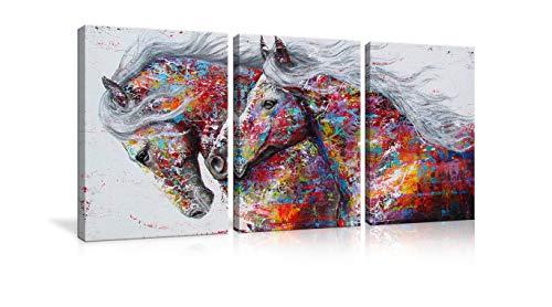 AMEMNY 3 Panel Large Printed Graffiti Canvas