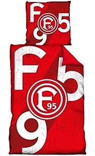 """Fortuna Düsseldorf Bettwäsche Microfaser /""""Düsseldorf/"""""""