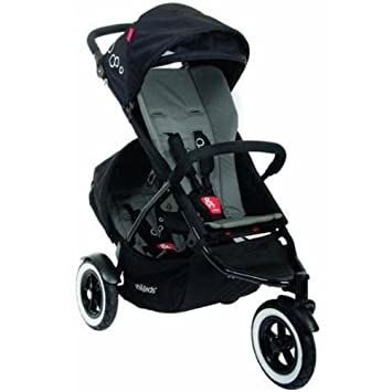 Amazon.com : Phil And Teds Dot Stroller WITH Doubles Kit (Flint) : Infant Car Seat Stroller Travel Systems : Baby