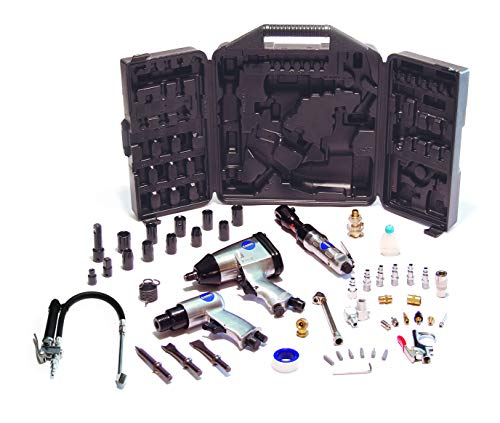Primefit ATK1002 50-Piece Ultimate Air Tool Kit w/Bonus Inflation Tool