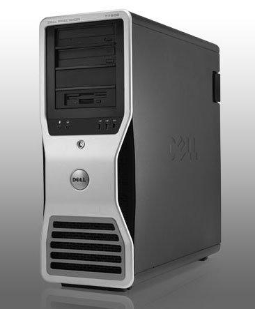 Dell 8 CORE Computer, Precision T7500 Workstation, 2 X Intel Quad Xeon 3.0GHz (12MB Cache), 2TB HDD + 512GB SSD, 32GB RAM, WiFi, AMD R7240 4GB, USB 3.0 (Renewed) Dell Precision Workstation T7400