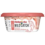 Chicken of the Sea Wild Catch, Alaskan Salmon, 4.5 oz Cups, Pack of 8