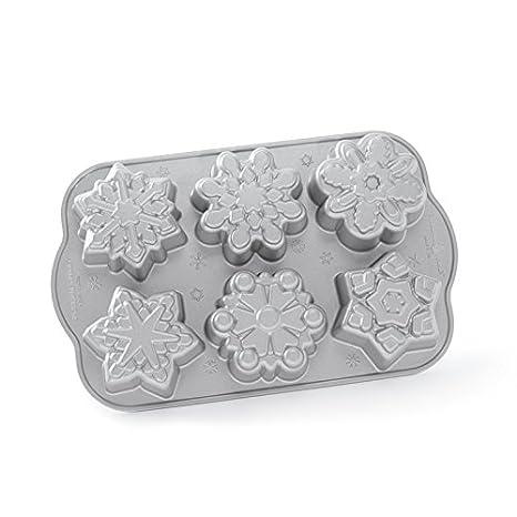 Nordicware 59936 Frozen Snowflake Cakelet Pan 89648