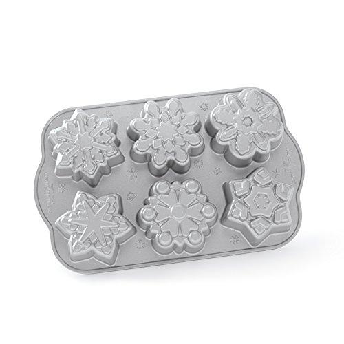 (Nordic Ware Frozen Snowflake Cakelet Pan,)