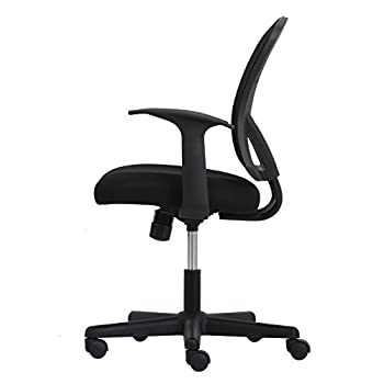Essentials Swivel Mesh Task Chair With Arms - Ergonomic Computeroffice Chair (Ess-3011) 9