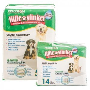 Little Stinker Housebreaking Pads by Precision Pet (Little Pads Housebreaking Stinker Precision)