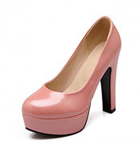 Aisun Scarpe Da Donna Eleganti Scarpe Da Ginnastica Basse A Taglio Basso Rosa