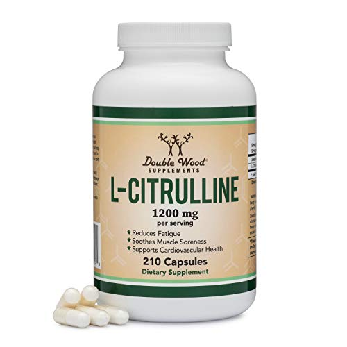 Citrulline L Citrulline Increases L Arginine Supplement