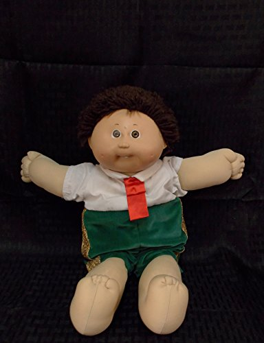 Used, CABBAGE PATCH KIDS Brown Hair/Hazel Eyes/Dimple/Shirt for sale  Delivered anywhere in USA
