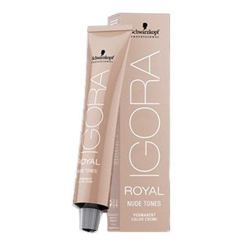 Schwarzkopf IGORA ROYAL NUDE TONES Permanent Color Creme (6-46 Dark Blonde Beige Chocolate) (Tone Refiner)