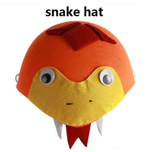 Cute Funny Fashion Children Cartoon Animal Hat Summer Hat Costume Hat Girls Boys School Play Hat Cap(snake Hat)