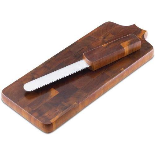 Dansk Belongings 19-Inch Breadboard with Knife (Wood Breadboard)