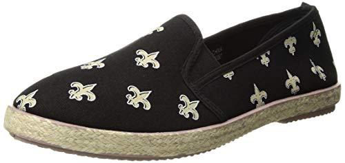 New Orleans Saints Espadrille Canvas Shoe - Womens Extra Large