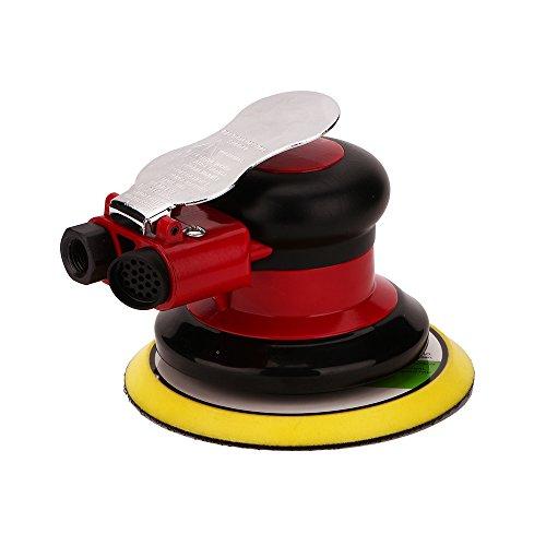 Professional Air Random Orbital Palm Sander, Dual Action Pneumatic Sander, Low Vibration, Heavy Duty by Gedu (Image #1)
