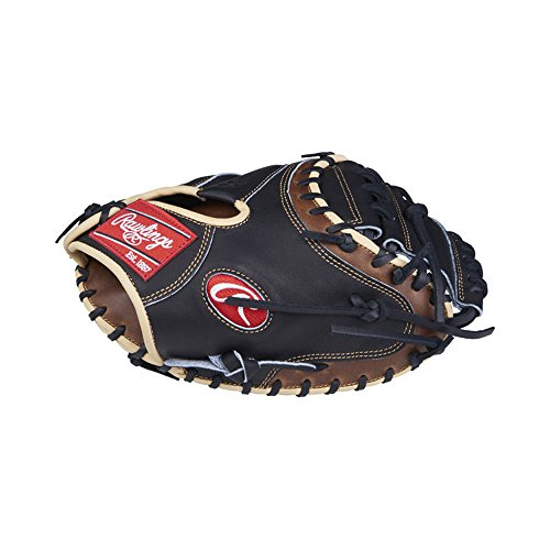 Rawlings Heart of the Hide Catcher's Solid Web Mitt (1 Piece), 33