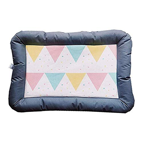 NBSXF Summer Cool Breathable Dog Cat Pet House Mat Ice Silk Material + Oxford Cloth Dog Bed Thickening Puppy Cat Sofa Mattress