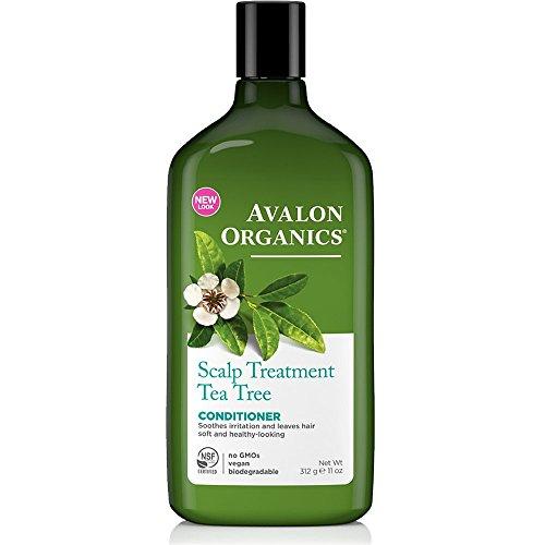 Avalon Organics Lavender TEA TREE Scalp Treatment Conditioner, 11 Ounce Bottle
