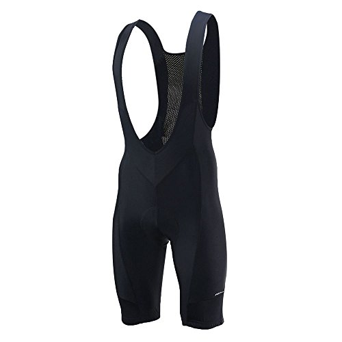 ARSUXEO Men's Cycling Bike Bib Shorts Black Size X-Large ()