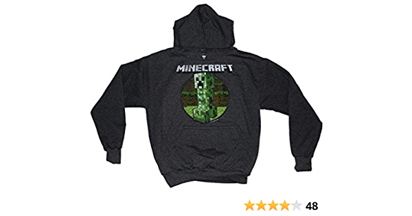 Minecraft Childrens//Boys Creeper Character Hoodie