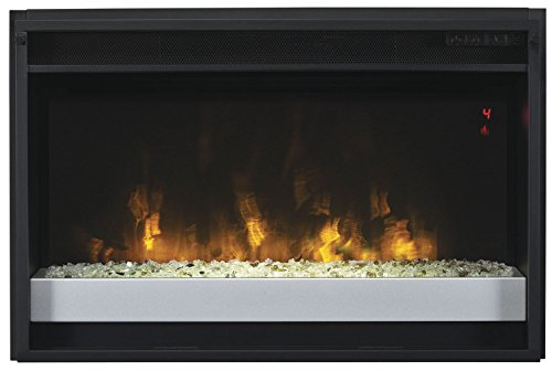 "ClassicFlame 26EF031GPG-201 26"" Contemporary Electric Fireplace Insert with Safer Plug"