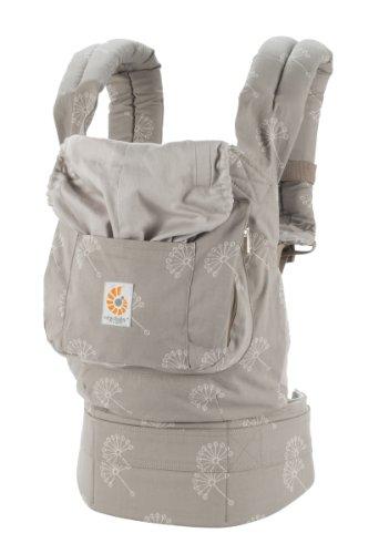 Ergobaby Original Award Winning Ergonomic Multi-Position Baby Carrier with X-Large Storage Pocket, Dandelion